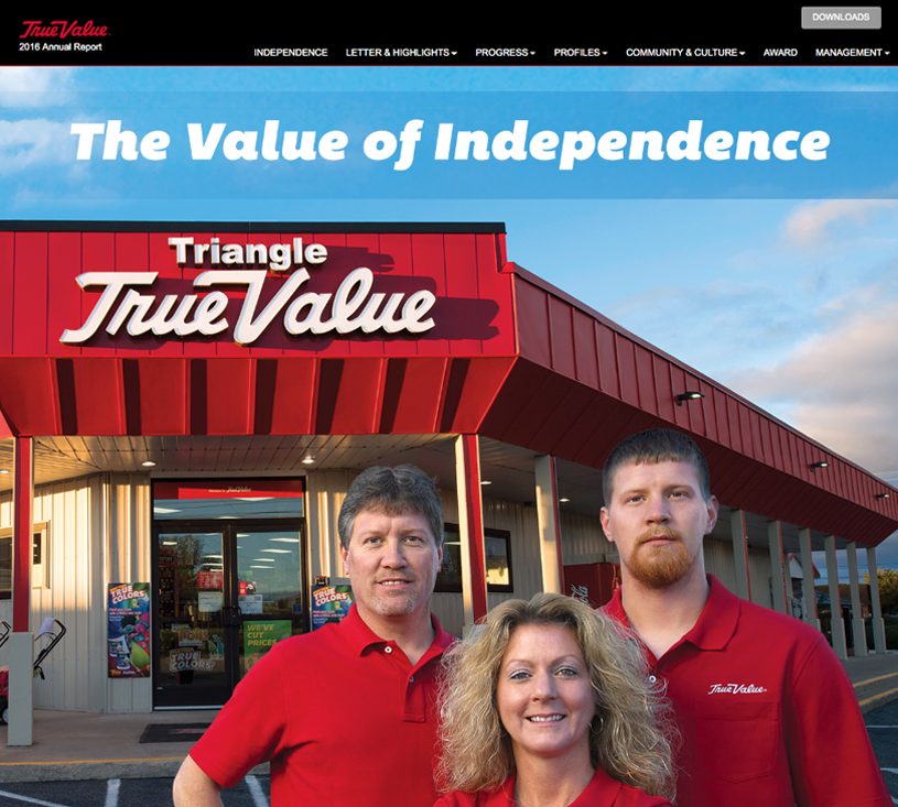 True Value Annual Report